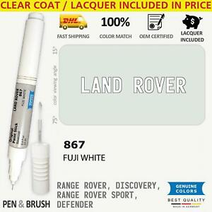 Wheel rim 867 White Touch Up Paint For Land Rover Range Rover Discovery Sport De