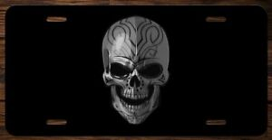 Wicked Cool Skull Vanity Front License Plate Tag Kce035