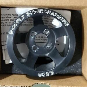 3 5 Whipple 6 Rib Supercharger Pulley