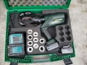 Greenlee Ek1240l Gator 12 ton Battery powered Crimping Tool