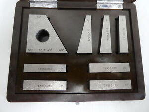 Hilger Watts Combinations Angle Block Set 1sec For Autocollimator Laser