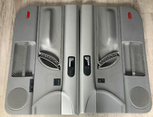 98 10 Vw New Beetle Oem Door Panels Silver gray Coupe Left Right Set