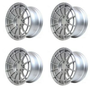 Enkei Nt03rr 5x114 3 17x9 45 45mm 45 Offset Lightweight Racing Wheels Silver