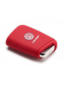 Volkswagen Silicone Key Cover Red