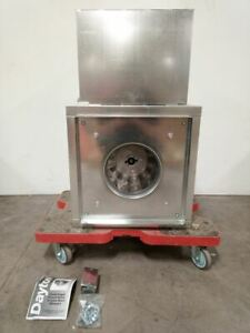 Dayton 10c389 13 1 2 In Wheel Dia In line Duct Blower W out Motor