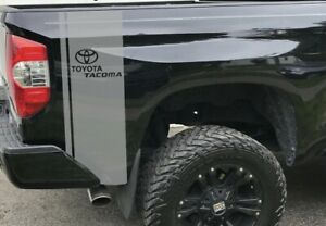 Vinyl Racing Stripes For Toyota Tacoma Side Rear Bed Trd Sticker Decals Graphics