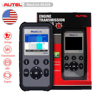 Autel Ml629 Abs Airbag Transmission Engine Obd2 Diagnostic Automotive Scan Tool