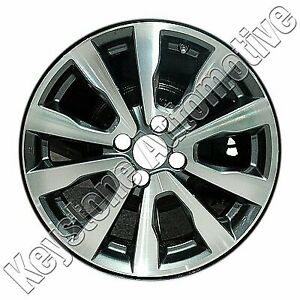Wheel For 2012 2014 Honda Fit 16x6 Charcoal Refinished 16 Inch Rim