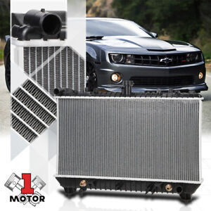 Aluminum Core Cooling Radiator Oe Replacement For 10 11 Chevy Camaro Dpi 13142