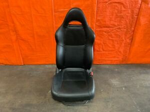 02 04 Acura Rsx Type S Base Passenger Right Front Seat Black Leather Oem Oe
