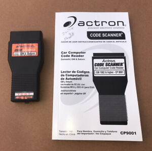 Actron Cp9001 Gm Code Scanner Check Engine Reader