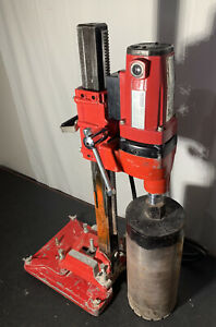 Ridgid Core Drill Model Rb 206 With Rp 6 Stand Lightly Used 6 5 Core Bit