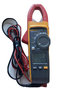 Fluke 376 Fc Trms Ac dc Clamp Meter With Leads