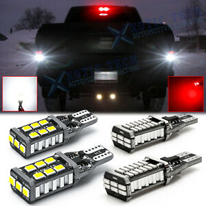 For Ram 1500 2500 3500 2011 2019 Led Strobe Backup Reverse 3rd Brake Light Kit