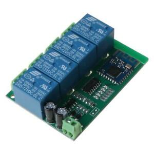 4ch Bluetooth Relay Switch Module With App Remote Control Mobile Phone Part