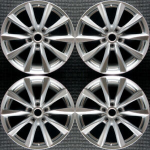 Infiniti G37 Hyper Silver 18 Oem Wheel Set 2011 To 2015