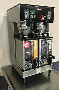 Bunn Dual Sh Dbc Commercial Coffee Brewer 2011 Model Server 33500 Maker Pickup