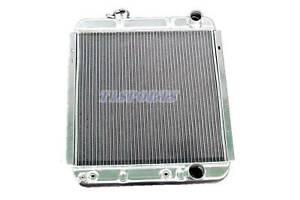 New 3 Row Aluminum Radiator For 65 66 Ford Mustang 63 65 Falcon Comet