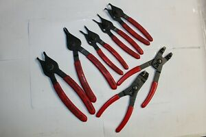 Blue Point Tools Internal External Snap Ring Retaining Ring Pliers Red Handles