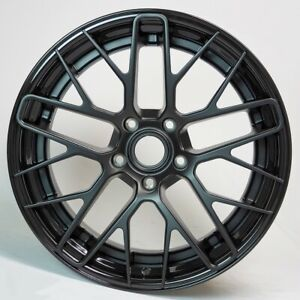 Fits Porsche 2 Piece Forged Floating Spokes Wheels Staggered Set 20x8 5 20x11 5