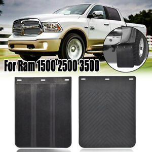 For Dodge Ram 1500 2500 3500 1995 2020 Rubber Splash Guards Mud Flaps Front Rear