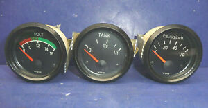 Vdo Volt Fuel Tank Pressure Gauges Ct34