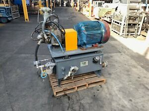 30 Hp Hydraulic Power Unit Complete