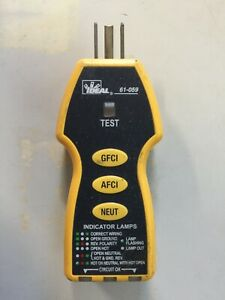 Ideal 61 059 Outlet Fault Tester Suretest Arc