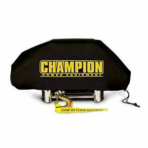 Champion Power Equip Neoprene Cover For 8000 10 000 Winches W Speed Mount 18034