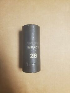Armstrong 47 226 26mm Impact Socket 1 2 Drive