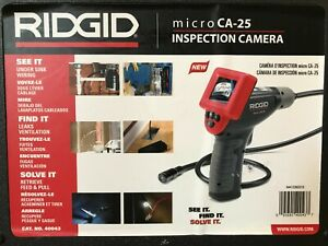 Ridgid Micro Ca 25 Digital Inspection Camera