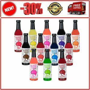 12 7oz Snow Cone Syrups 12 Pack