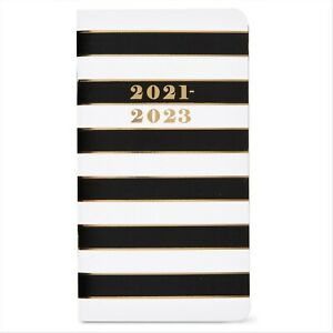2021 2022 Pocket Monthly Planner Large Print Contacts Notes