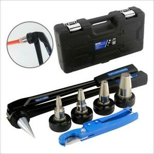 Uponor Pex Pipe Tube Expander 16 20 25 32mm Propex Expansion Tool Kit