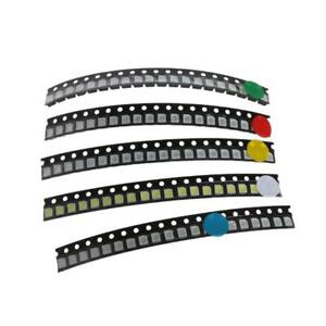 100pcs 5 Color Smd 3528 1210 Led Light Red Green Blue Yellow White Assotment Kit