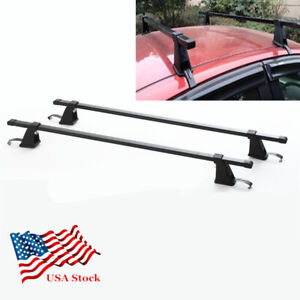 48 Car Suv Roof Rack Cross Bar Cargo Carrier Adjustable Drill free Universal