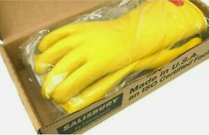 Salisbury Electrical Lineman Gloves Low V 0 Size 10h D120 Type 1 E014y 10h New