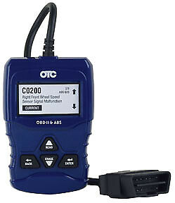 Obd Ii And Abs Scan Tool Otc 3208