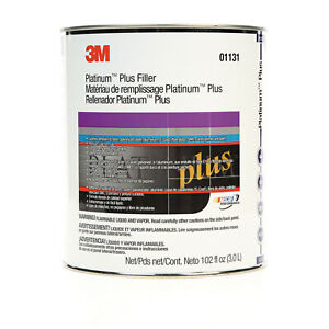 Platinum Plus Body Filler Gallon Mar 01131