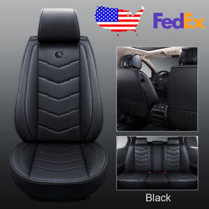 Moon Car Suv Pu Leather 5 seat Seat Covers For Nissan Altima Sentra Rogue Kicks