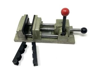 Nib Poland Quick Action Speed Grip Vise 3 Drill Press W Extra Jaws Europe Made