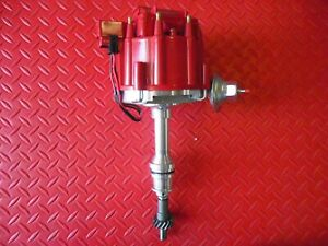 Hei Distributor Procomp Sbf Ford 289 302 W 65000 Volt Coil Red Or Blue Cap
