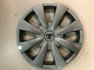 1x Silver 15 Hubcap Fits Toyota Corolla 2009 To 2013 Wheel Cover