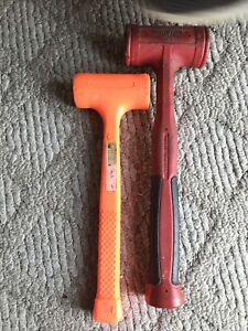Snap On Tools 32oz Dead Blow Hammer Part Hbfe32 Pittsburgh 16 Oz Save