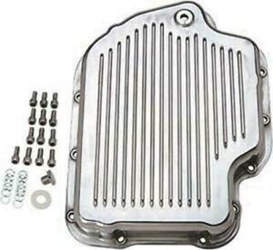 Transmission Pan Aluminum Turbo 400 Polished With Plug Gasket And Bolts All New
