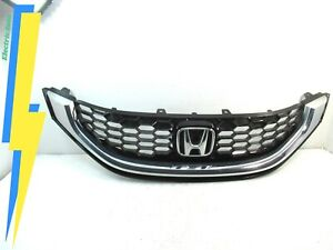 Genuine Oem 2013 2015 Honda Civic Sedan Front Grille W Emblem