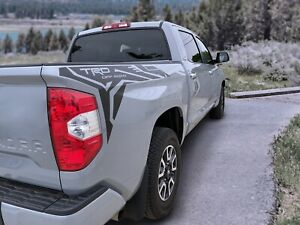 Toyota Tundra Trd Off Road Pro Style Side Bed Vinyl Decals Graphics Stickers