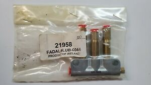 Fadal Cnc Lube Block For Under Table Of 4020 Part Number Lub 0044
