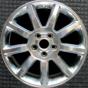 Cadillac Sts Polished 18 Inch Oem Wheel 2005 To 2008