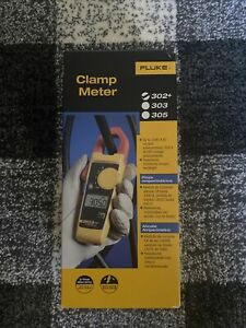Fluke 302 Digital Clamp Meter Ac dc Multimeter Tester W Case new